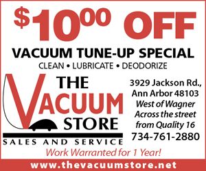 $10.00 Off Vacuum Tune-Up Special